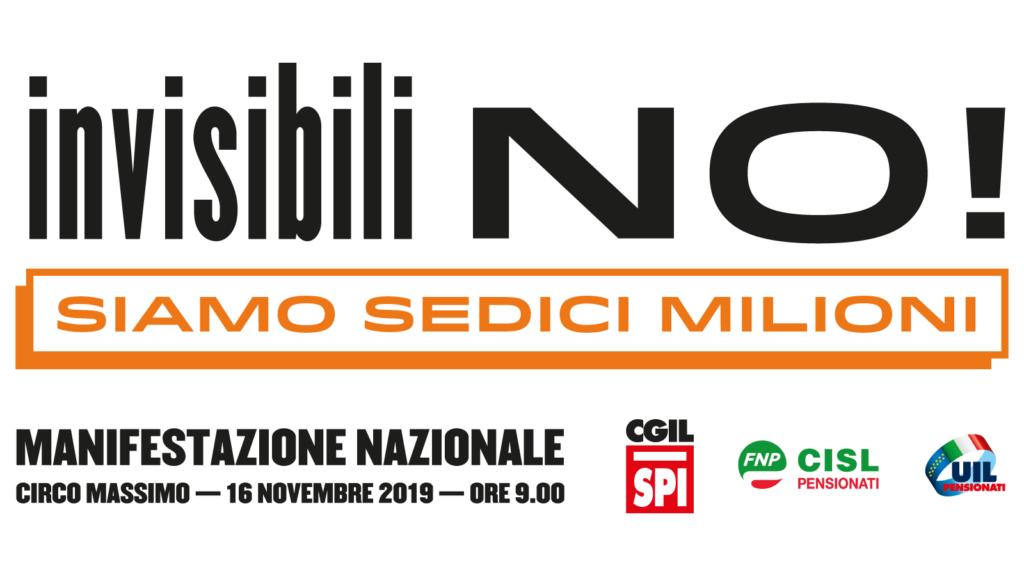 Manifestazione nazionale 16 novembre 2019